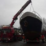 heising av båt