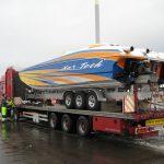 transport av speedbåt