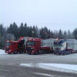 lastebiler med gods