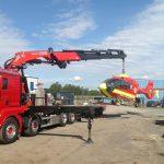 heising og transport av helikopter